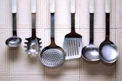 Kitchen Utensils Royalty Free Stock Images