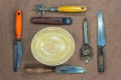 Kitchen utensils Royalty Free Stock Photos