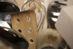 Kitchen Utensils Close-up. A close-up shot of Kitchen Utensils stock images