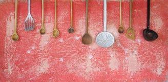Kitchen utensils, Royalty Free Stock Photography