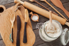Kitchen utensils Stock Image