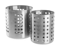 Kitchen utensils holder on background. Royalty Free Stock Photography