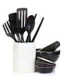 Kitchen utensils in holder Royalty Free Stock Photography