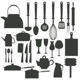 Kitchen utensils icons. Icon vector illustration graphic design royalty free illustration