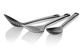 Kitchen utensils isolated Stock Photos