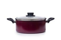 Kitchen utensils pan pot  Royalty Free Stock Images