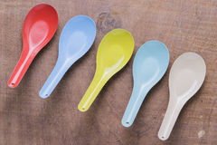 Kitchen utensils spoon Royalty Free Stock Images