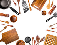 Kitchen Utensils/Various Kitchen Utensils isolated Stock Photo