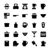Kitchen Utensils Vector Icons 4 Royalty Free Stock Photos