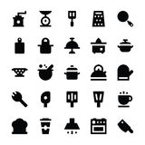 Kitchen Utensils Vector Icons 7 Royalty Free Stock Photo