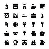 Kitchen Utensils Vector Icons 10 Stock Photos