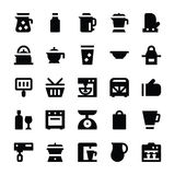 Kitchen Utensils Vector Icons 11 Stock Photo