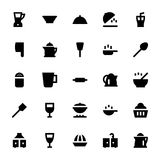 Kitchen Utensils Vector Icons 2 Royalty Free Stock Photos