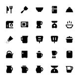 Kitchen Utensils Vector Icons 1 Royalty Free Stock Images