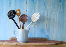Kitchen utensils, Royalty Free Stock Photography