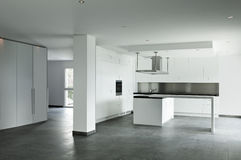 Kitchen view Royalty Free Stock Images