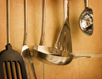 Kitchen wall Stock Photography