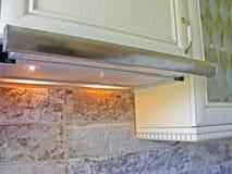 Kitchen wall hood royalty free stock image