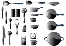 Kitchen ware Royalty Free Stock Photo