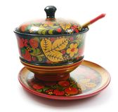 Kitchen Ware: Russian Cup for Sugar Stock Photo