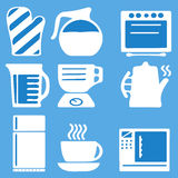 Kitchen ware set Royalty Free Stock Photography