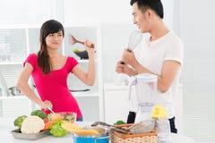 Kitchen wars Stock Image