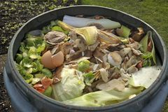 Kitchen waste Stock Photos