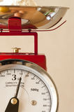 Kitchen weighing scales Stock Photo