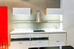 Kitchen white royalty free stock photos
