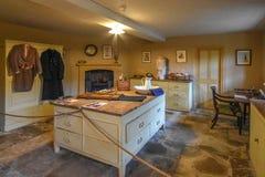 Wimpole Hall kitchen stock image