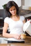 kitchen woman Στοκ Εικόνες
