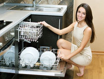 Kitchen Woman stock photography