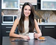 Kitchen Woman Royalty Free Stock Image