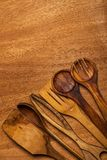 Kitchen. Wooden utensil Stock Images