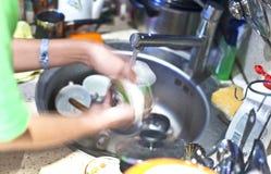 Kitchen work Royalty Free Stock Photo