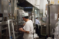 Kitchen worker Stock Photography