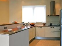 Kitchen worktop Stock Image