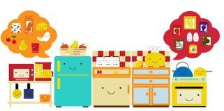 kitchen5 库存例证