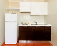 Kitchenette Royalty Free Stock Image
