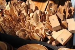 kitchenware деревянный стоковое изображение