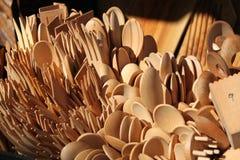 kitchenware деревянный стоковое фото rf