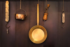 kitchenware старый Стоковое Изображение RF