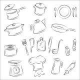 Kitchenware Imagem de Stock
