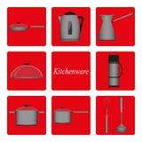 kitchenware Fotografía de archivo