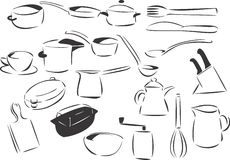 Kitchenware Stock Images