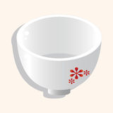 Kitchenware bowl theme elements vector,eps. Vector illustration file Royalty Free Stock Images