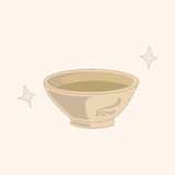 Kitchenware bowl theme elements vector,eps. Vector illustration file Stock Images