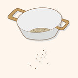 Kitchenware bowl theme elements vector,eps Stock Photos