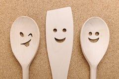 Kitchenware de madeira Imagem de Stock