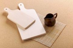 Kitchenware de madeira Fotos de Stock Royalty Free